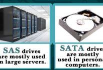 هارد درایوهای SAS و SATA